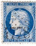 Meurthe Et Moselle Leyr GC 4778 Cote Pothion (sur Lettre) Ind. 12 = 80 Eu - 1849-1876: Période Classique