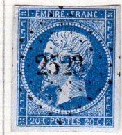 Meurthe Pont Saint Vincent Pc 2523 Cote Pothion (sur Lettre) Ind 7 = 30 Eu - 1849-1876: Période Classique
