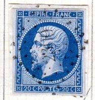 Meurthe Novian Aux Prés  Pc 2300  Cote Pothion (sur Lettre) Ind 10 = 60 Eu - 1849-1876: Période Classique