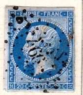 Meurthe Mezieres Les Vic Pc 466  Cote Pothion (sur Lettre) Ind 18 = 300 Eu - 1849-1876: Période Classique