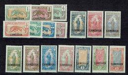 Cameroun - Série 84/100 - X - Neufs Traces De Charnières Légères Et Moyennes - Cote 36,50 € - Unused Stamps