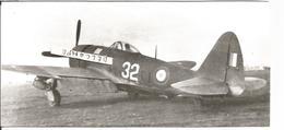 PHOTO AVION REPUBLIC P47 D  25 RE  GC 2/5 LA FAYETTE 1ERE ESCADRILLE 18X8CM - Aviation