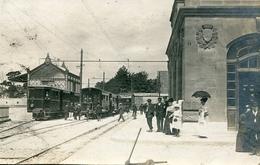 RS   90 BELFORT. Gare De Chemin De Fer D'interet Local (carte Photo Rare) - Belfort - Ville