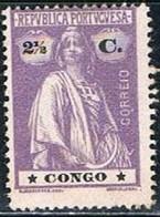 Congo, 1914, # 104 (I-I), MNG - Congo Portugais