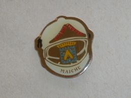 Pin's SAPEURS POMPIERS DE MAICHE - Firemen