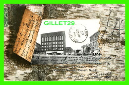 DOVER, NH - CENTRA SQUARE - TRAVEL IN 1907 - UNDIVIDED BACK - - Dover