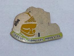 Pin's SAPEURS POMPIERS DE MORESTEL - Feuerwehr