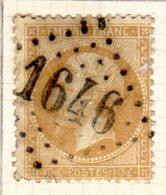 Meurthe Gerbeviller GC 1646 Cote Pothion (sur Lettre) Ind 5 = 20 Eu - 1849-1876: Période Classique