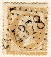 Meurthe Heming GC 4378  Cote Pothion (sur Lettre) Ind 13 =100 Eu - Marcophilie (Timbres Détachés)