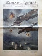 La Domenica Del Corriere 7 Aprile 1940 WW2 Feste In Sardegna Raffaello Equatore - Guerra 1939-45