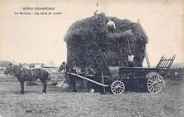 Agriculture - N°64249 - Scène Champêtre - La Moisson - La Mise En Meule - Attelages