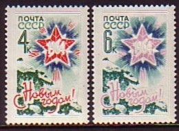 RUSSIA & USSR - 1963 - Nouvel Anne - 2v** Mi 2838/39 - 1923-1991 URSS