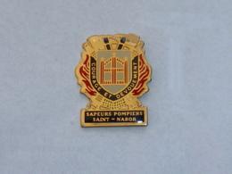 Pin's SAPEURS POMPIERS DE SAINT NABOR - Firemen