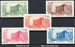MAURITANIE SERIE BASTILLE N° 100/104 AVEC OBLITERATION - Used Stamps
