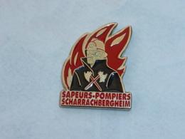 Pin's SAPEURS POMPIERS DE SCHARRACHBERGHEIM - Firemen