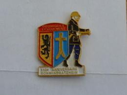Pin's SAPEURS POMPIERS DE SCHWINDRATZHEIM - Firemen