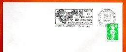 29 S PONT AVEN  GAUGUIN  1994 Lettre Entière N° OP 389 - Mechanical Postmarks (Advertisement)
