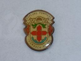 Pin's SAPEURS POMPIERS DE TRIEMBACH AU VAL - Firemen