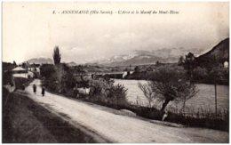 74 ANNEMASSE - L'Arve Et Le Massif Du Mont-Blanc - Annemasse