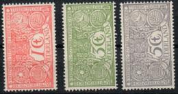 NETHERLAND  84/86  *  MH - Unused Stamps