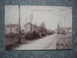 SAINT BARBANT - LA GARE - Francia