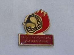 Pin's SAPEURS POMPIERS DE WASSELONNE - Firemen