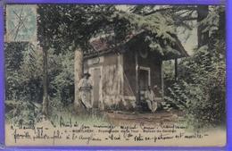 Carte Postale De Luxe  91. Montlhéry  Promenade De La Tour  Maison Du Gardien Très Beau Plan - Montlhery