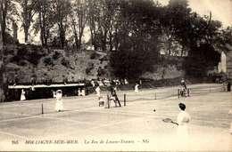 BOULOGNE SUR MER - Pas De Calais - Le Jeu De Lawn Tennis - Vue D'ensemble - Belle Animation /LOT 4002 - Boulogne Sur Mer