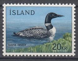 +Iceland 1967. Bird : Diver. Michel 408. MNH(**). - 1944-... Republic