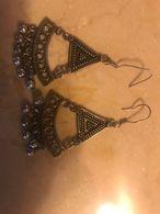 Orecchini Indiani In Argento 900 Con Campanelli Idea Regalo - Earrings