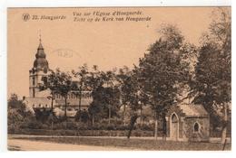 Hoegaarden 22.Hougaerde  Vue Sur L'Eglise D'Hougaerde  Zicht Op De Kerk V Hougaerde - Högaarden