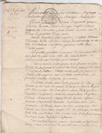 ACTE DE MARIAGE--DE SILVAIN REGNAULT-VEUF DE MARIE JEQUET?-VOIR SACAN ET DESCRIPTIF - Manuskripte