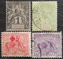 Timbres De Guyane Française Non Classés - Guyane Française (1886-1949)