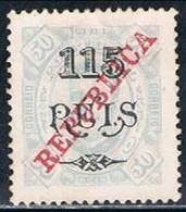 Congo, 1915, # 126 Dent. 13 1/2, P. Pontinhado, MNG - Congo Portugais