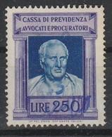 Marca Da Bollo. Cassa Di Previdenza Avvocati E Procuratori L. 250 - Italia