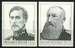 [A2785] België 2793/94 – Belgisch Koningshuis – La Dynastie Belge – ON – Cote: € 75,00 - Belgique