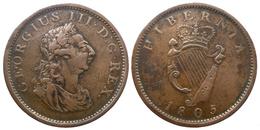 Georges III - Penny 1805  (8810) - Irlanda