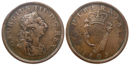Georges III - Penny 1805  (8810) - Irlande
