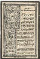 DP. MARIA SAEY ° SAFFELAERE 1808- + DESTELDONCK 1886 - Religion &  Esoterik