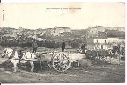 LANCON DE PROVENCE. CHATEAU DE CALISSANE. LES COUSSOUS - Frankreich