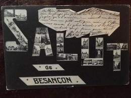 Cpa, Salut De Besançon, Multivues, écrite En 1904, édition Jacot - Besancon