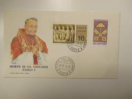 23.9.1978 Morte Di SS.Giovanni Paolo I  + Sede Vacante L.250 - Cartas