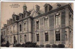 Cpa Yvetot Ecole Pensionnat De Garcons - Yvetot