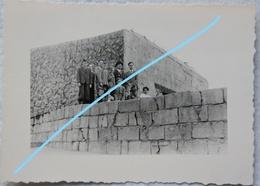 Photo Getarnt BUNKER Belgische Kust Atlantik Wall Fortification German Bunker Belgian Coast WW2 - Guerre, Militaire
