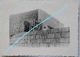 Photo Getarnt BUNKER Belgische Kust Atlantik Wall Fortification German Bunker Belgian Coast WW2 - Oorlog, Militair