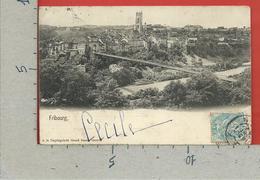CARTOLINA VG SVIZZERA - FRIBOURG - Ed. La Degringolade - 9 X 14 - 1904 - FR Fribourg