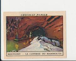 Chromo Chocolat Pupier Amérique Du Nord La Caverne Du Mammouth  230/2 - Chocolat