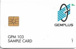 Russia - SPT Sankt Petersburg Taxophones - Gemplus GPM 103 Sample Card, 10U, Loaded & Mint (check Photos!) - Rusia