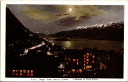 Alaska Juneau Night View - Juneau