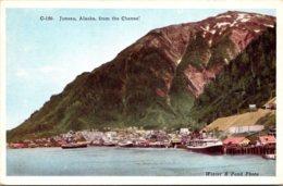 Alaska Juneau From The Channel - Juneau